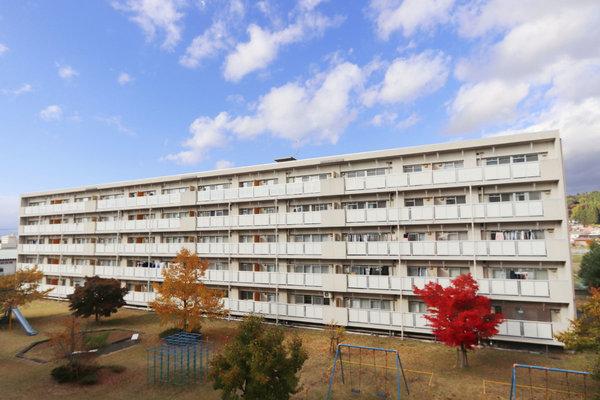 ビレッジハウス江刺2号棟の外観