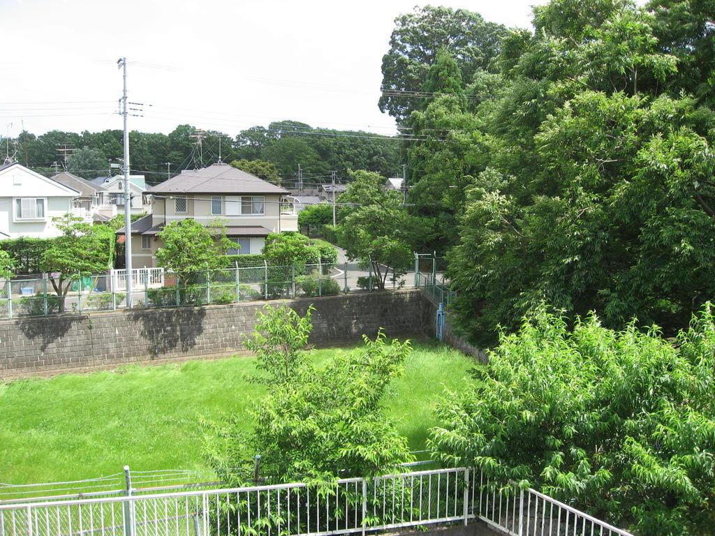 眺望 東方向は豊富な緑が見えます!東京にいることを忘れます・・・。