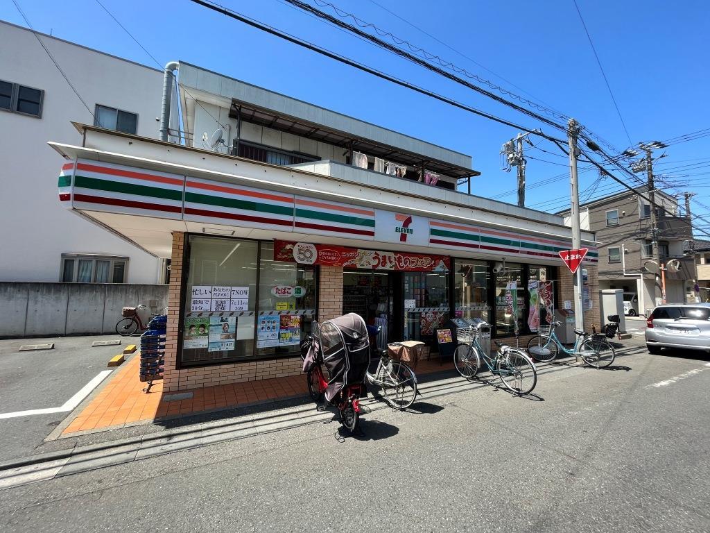 コンビニ セブンイレブン川崎四谷上町店(コンビニ)まで731m