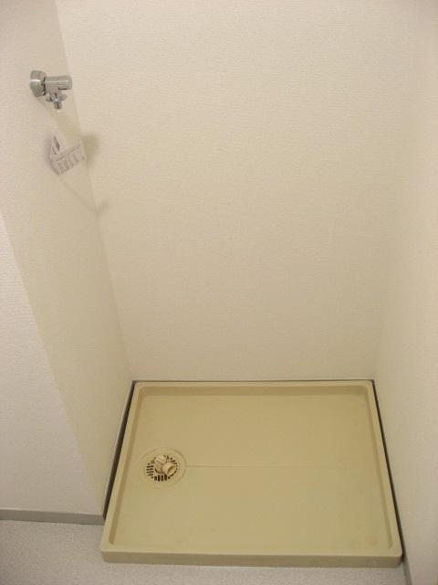 その他設備 脱衣所にある防水パンです!