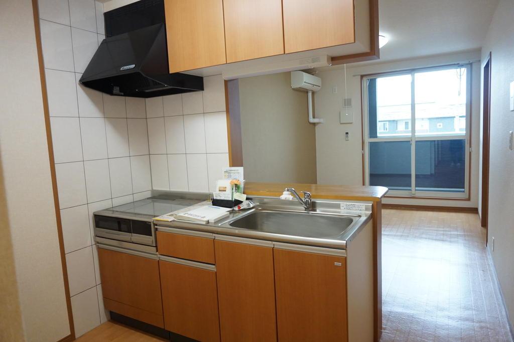 キッチン ※同アパート別部屋写真です。