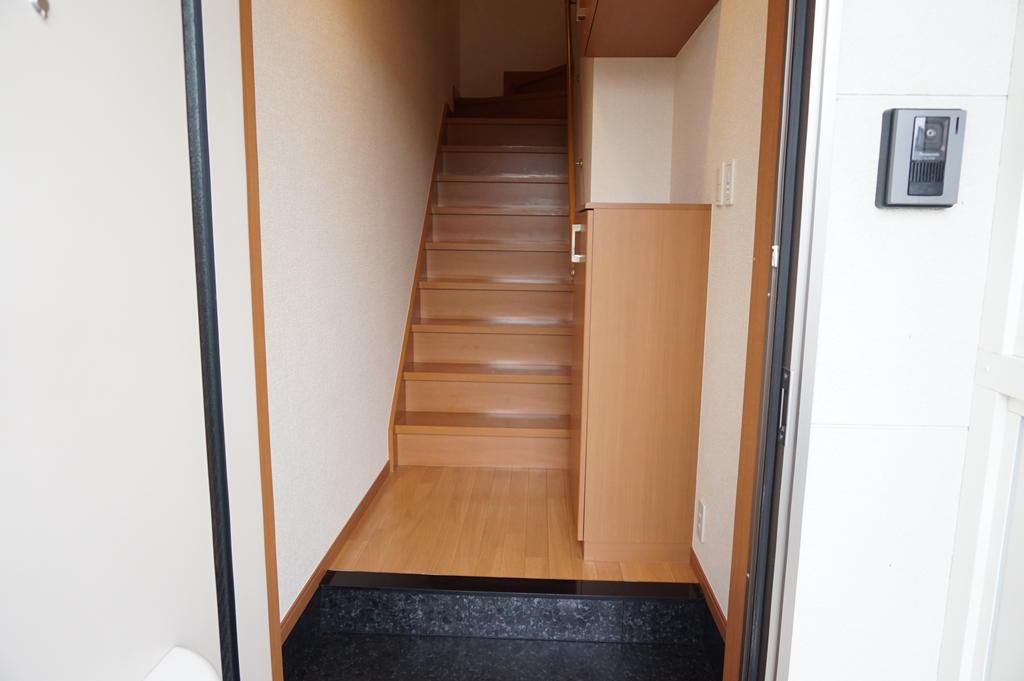 玄関 ※同アパート中部屋写真です。