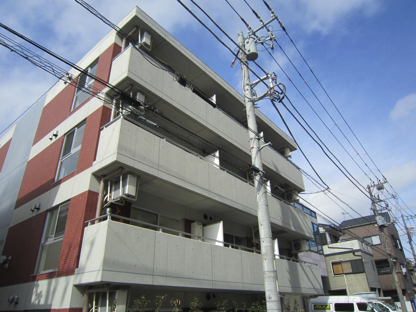 フェルクルール新横浜の外観