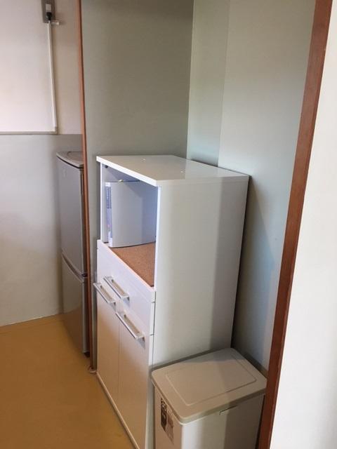 その他設備 冷蔵庫・レンジ台付。