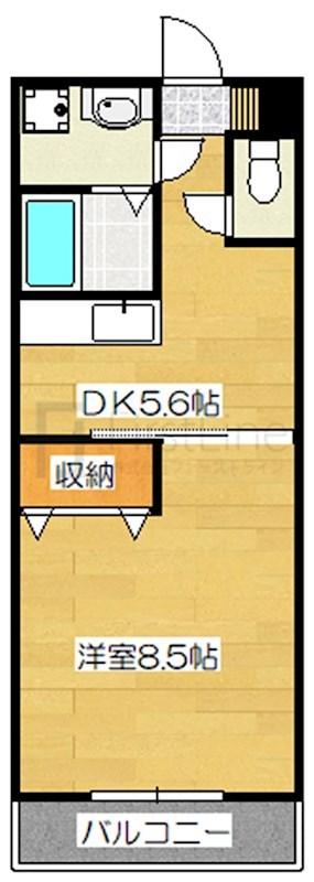 黒崎第3ビルの間取り