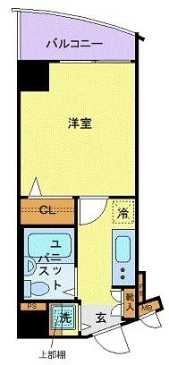 フェニックス笹塚弐番館の間取り