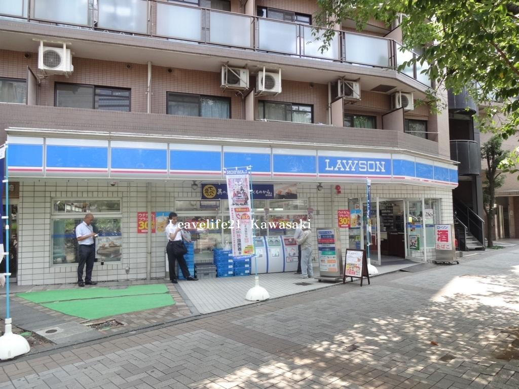 コンビニ ローソン川崎西小川町店(コンビニ)まで176m