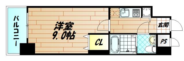 No.63オリエントキャピタルタワーの間取り