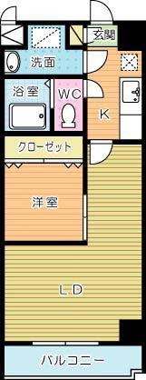 堺町センタービルの間取り