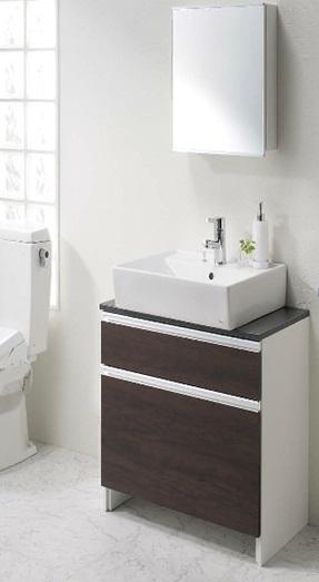 洗面設備 ホテルの様なデザイン洗面