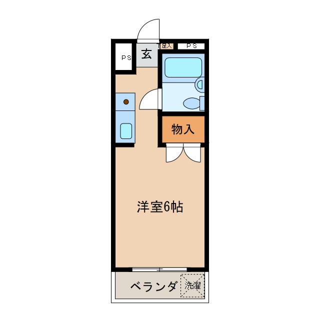 NOA・松野の間取り