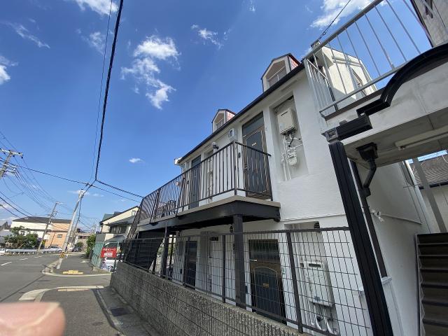 阪急神戸線 岡本駅 2階建の外観