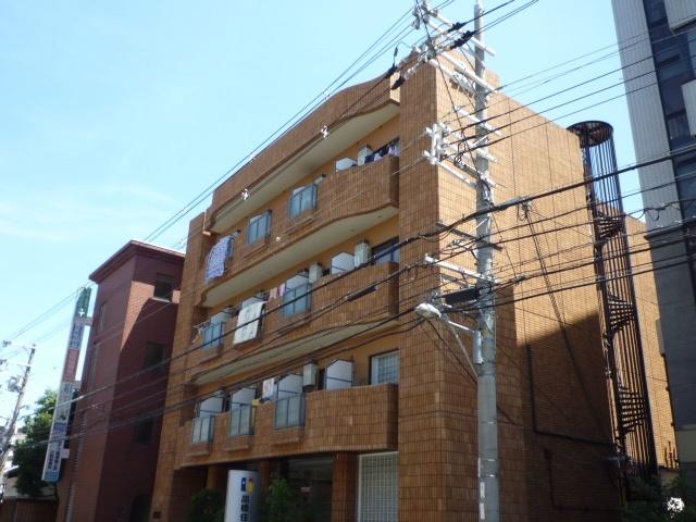 コーポタカハシB棟の外観