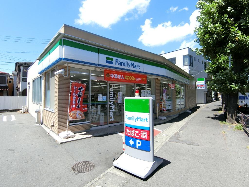 コンビニ ファミリーマート川崎中丸子店(コンビニ)まで309m