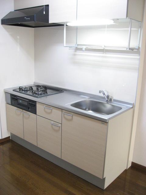 キッチン 広々新品キッチンでお料理も楽しく!