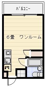 東京アーストンマンションNo.2の間取り