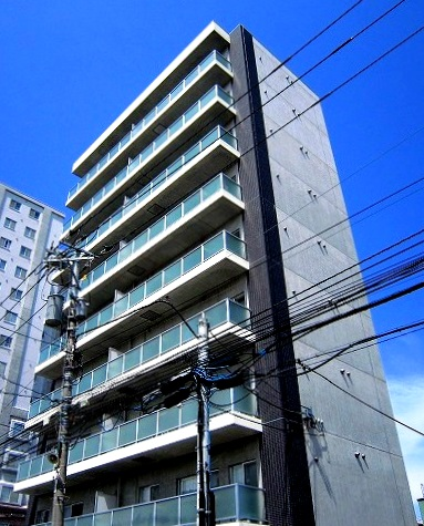 ピエール・ラルジュ東札幌の外観