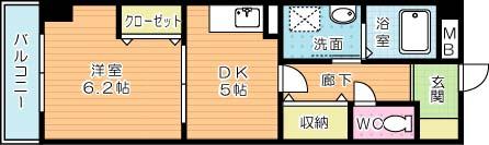 TAKADA BLD No.2の間取り