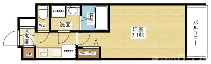 S-RESIDENCE新大阪Lunaの間取り