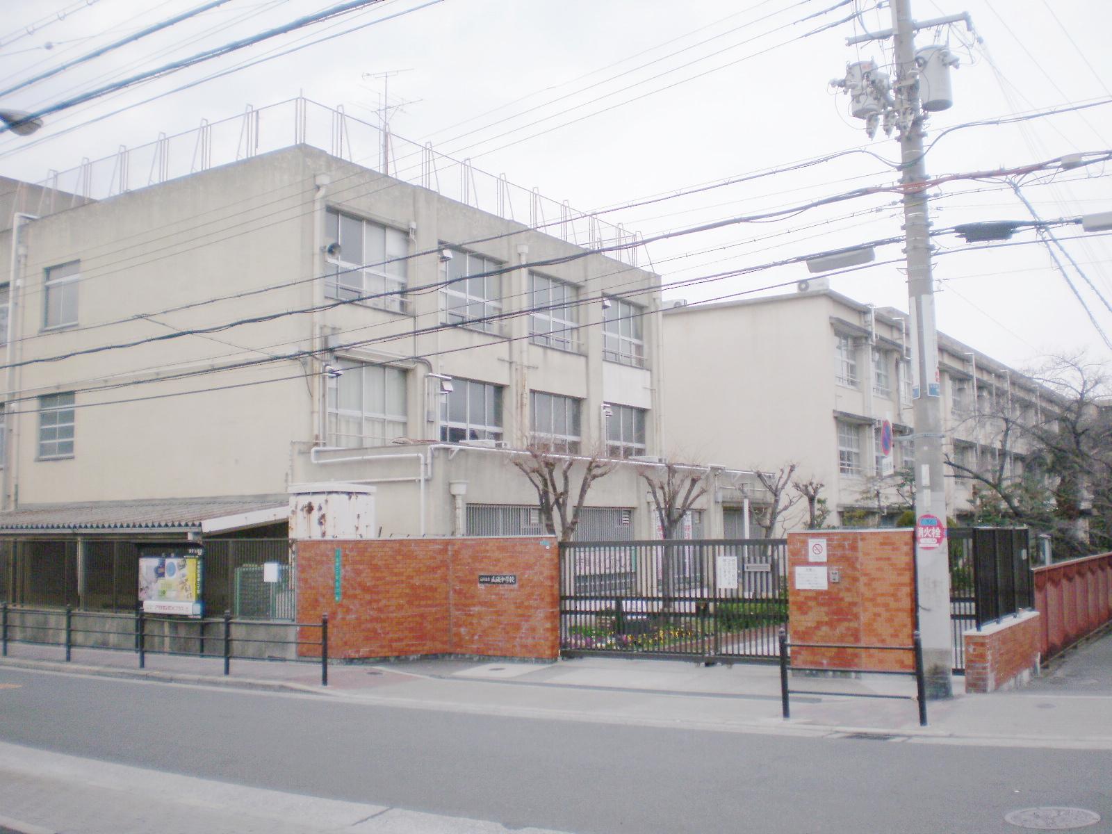 中学校 大阪市立瓜破中学校(中学校)まで370m