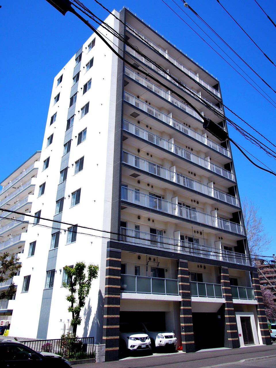 ハーモニーコート東札幌の外観