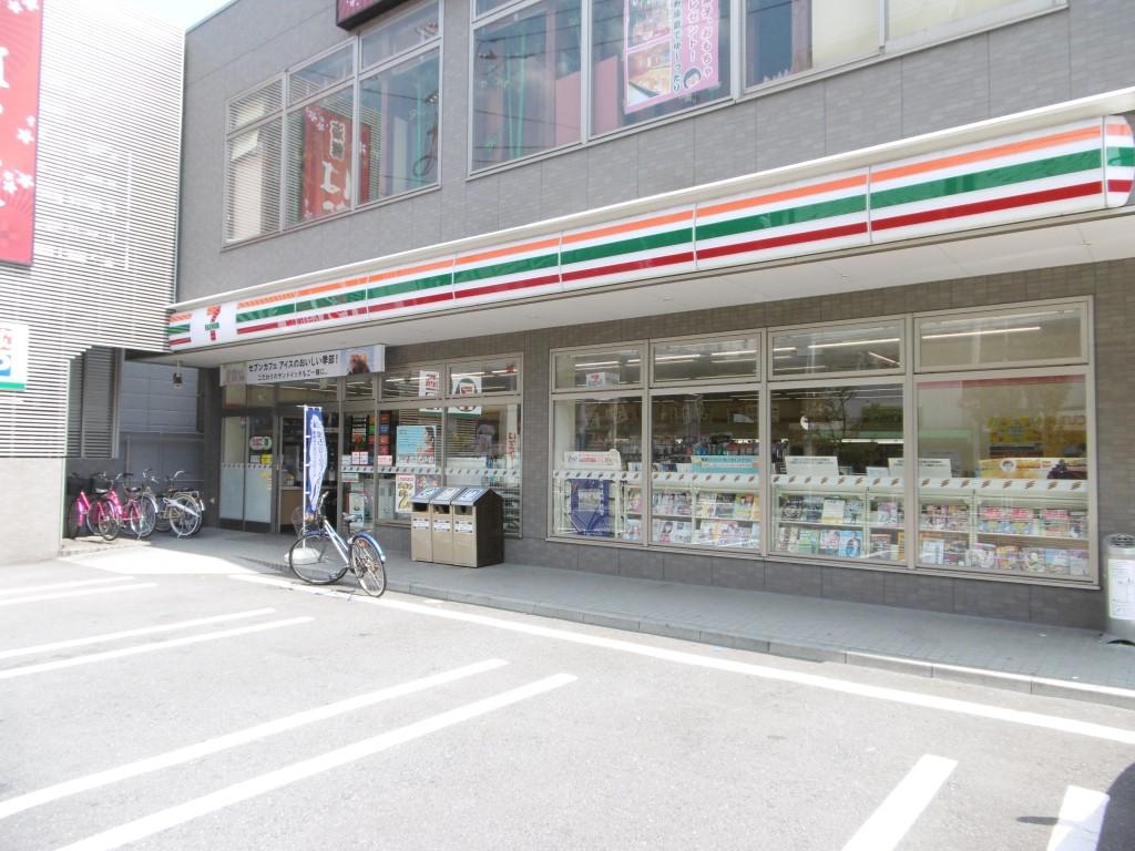 コンビニ セブンイレブン川崎八丁畷駅前店(コンビニ)まで262m
