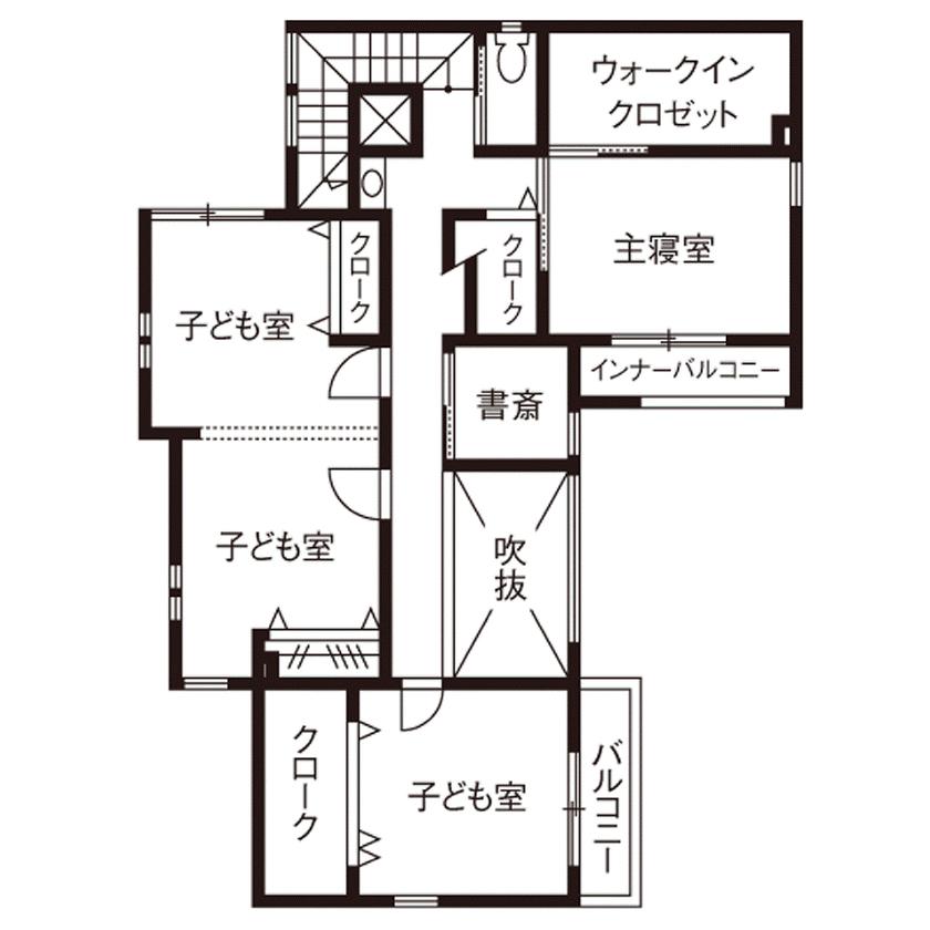 【2500~3000万円】彩り鮮やかで上品なインテリアで空間をデザイン。ガラス張りのインナーガレージのある家画像5