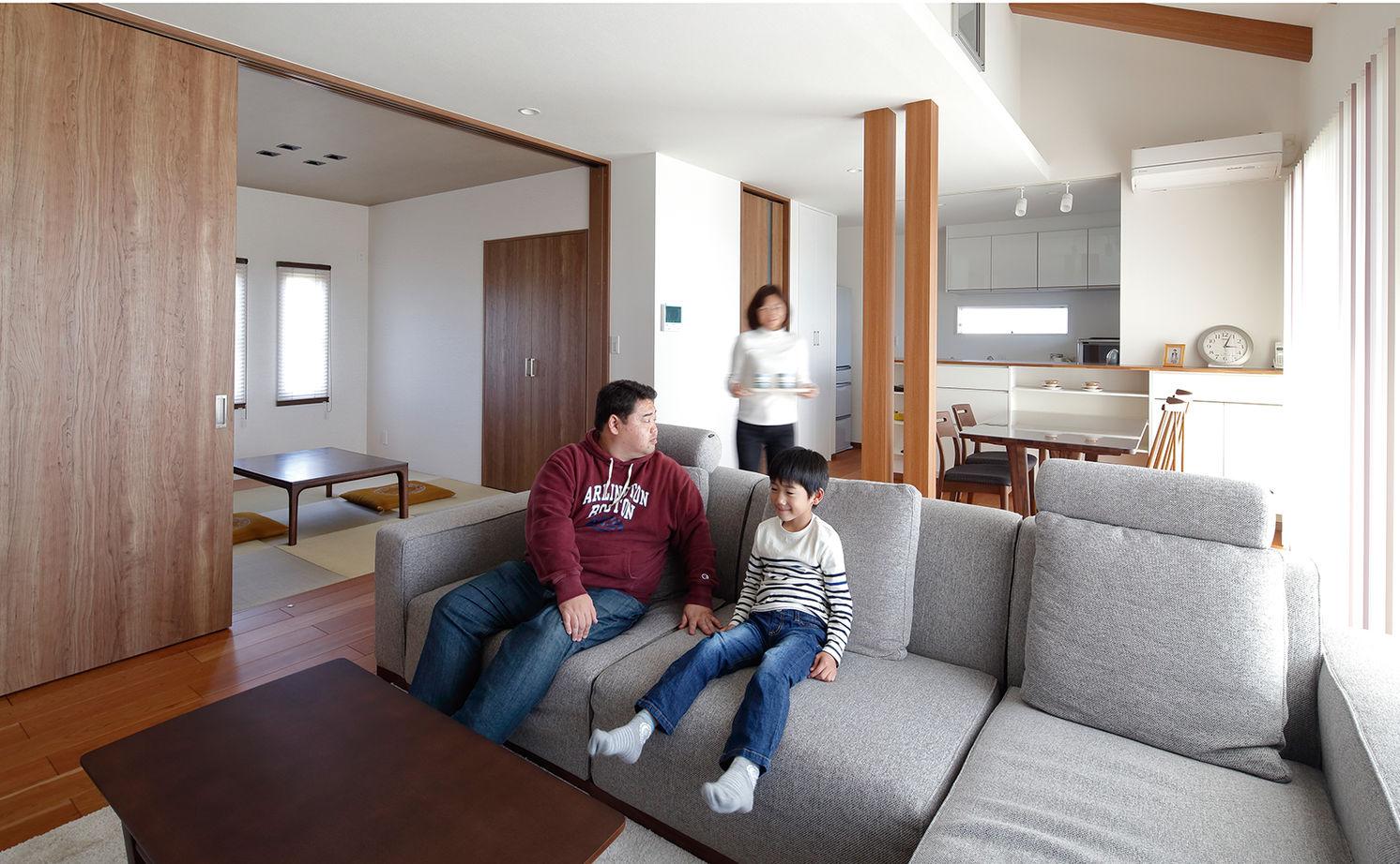 【建物本体価格2000万円台/間取り図あり】平屋の快適動線が住み心地いい、遊び心溢れるオンリーワンの家画像2