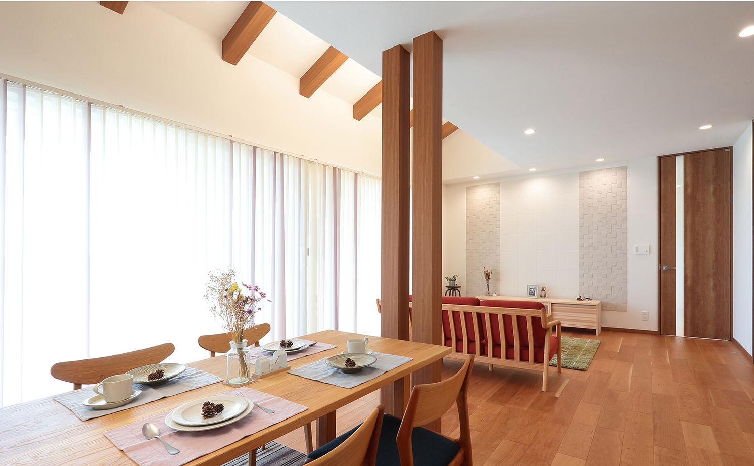 【建物本体価格2000万円台/間取り図あり】平屋の快適動線が住み心地いい、遊び心溢れるオンリーワンの家画像3