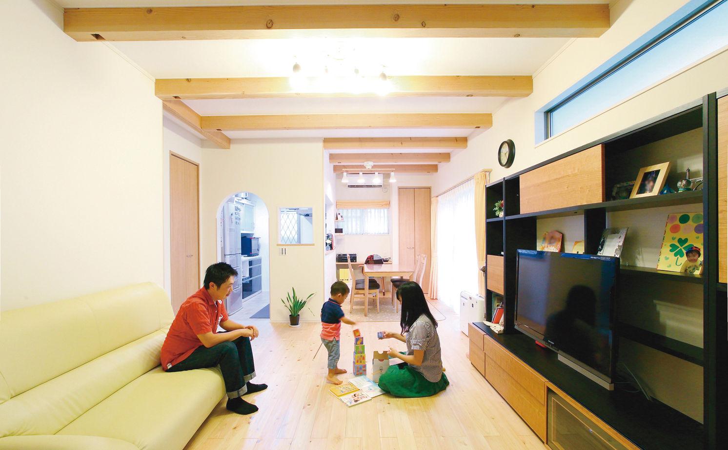 【1000万円台】子育てのために探した土地。希望通りの土地で自然素材あふれる住まいを実現画像2
