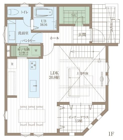 【延床31.4坪・2968万円】狭小地で設計の工夫が光る。北欧スタイルで統一された心地よいZEH仕様住宅画像4