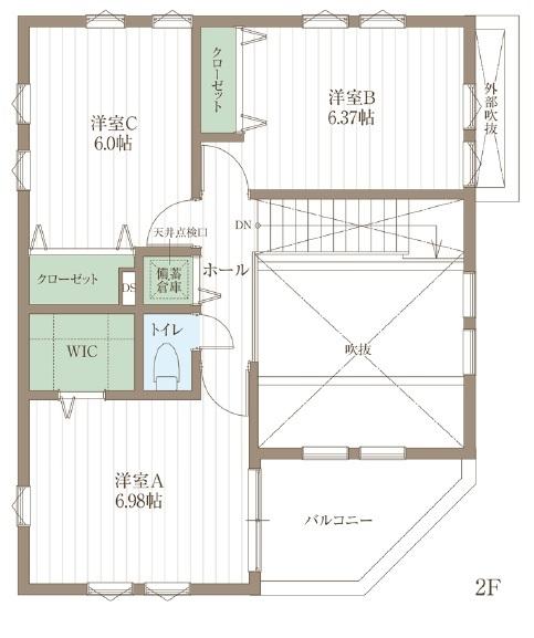 【延床31.4坪・2968万円】狭小地で設計の工夫が光る。北欧スタイルで統一された心地よいZEH仕様住宅画像5