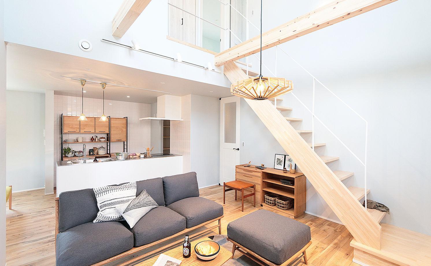 【延床31.4坪・2968万円】狭小地で設計の工夫が光る。北欧スタイルで統一された心地よいZEH仕様住宅画像1