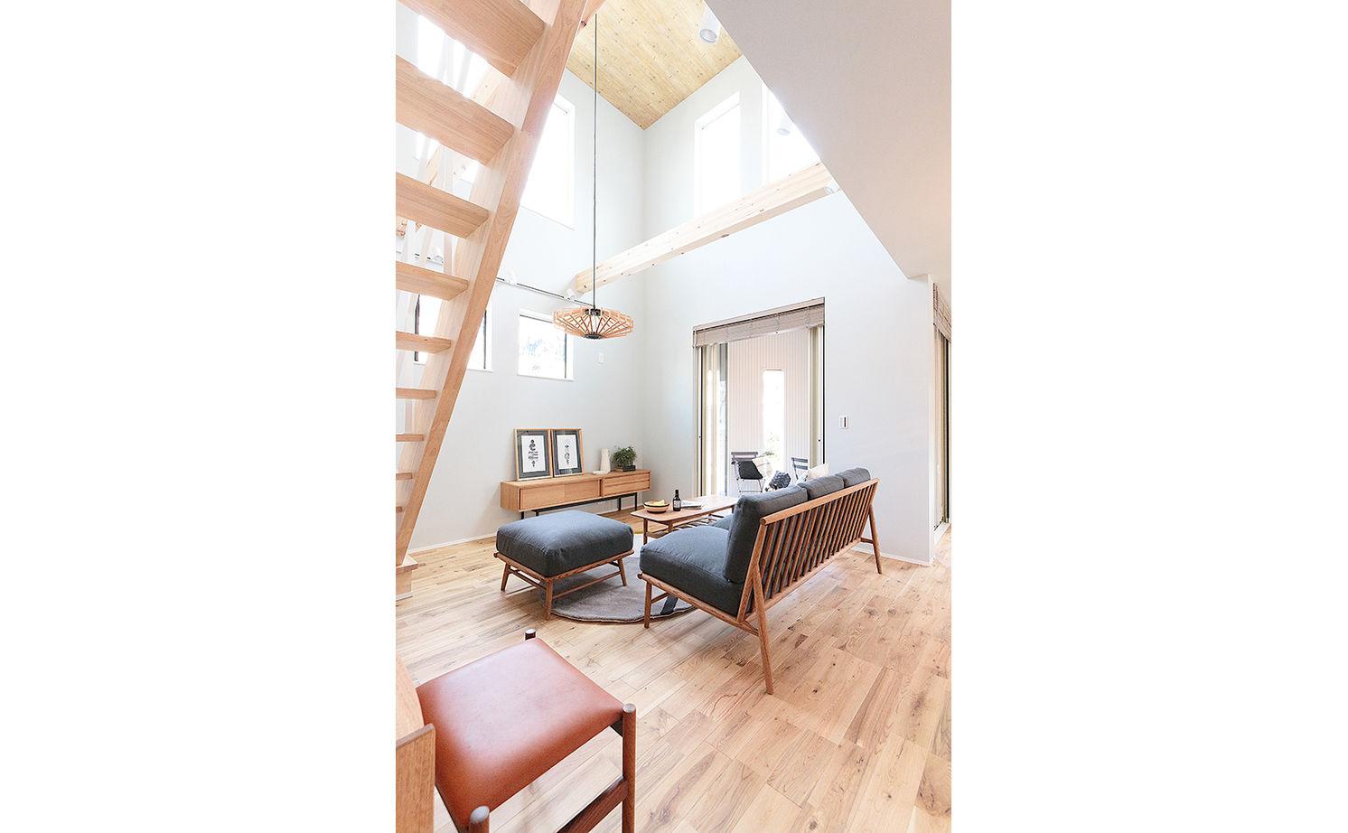 【延床31.4坪・2968万円】狭小地で設計の工夫が光る。北欧スタイルで統一された心地よいZEH仕様住宅画像2