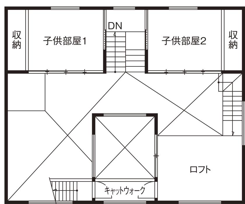 建築家とコラボした5層のステップフロアからなる、こだわりや想いの強いお家画像7