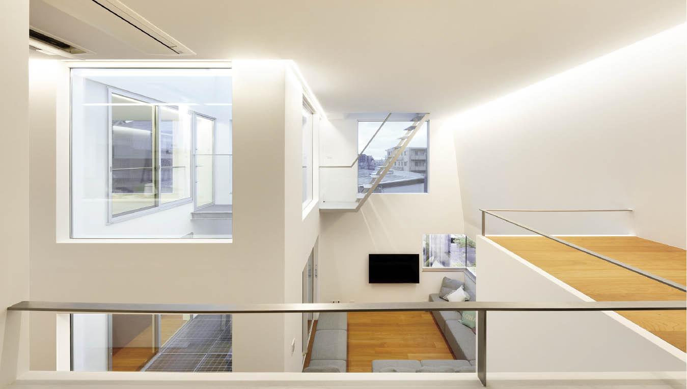 建築家とコラボした5層のステップフロアからなる、こだわりや想いの強いお家画像2