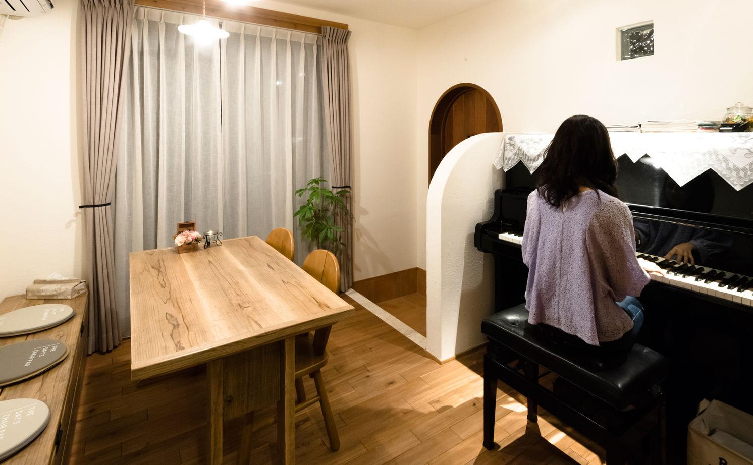 【高槻市×ロッジア×二人暮らし】夫婦二人の暮らしにちょうど良い広さ、間取り、設備を備えたお洒落な家画像3