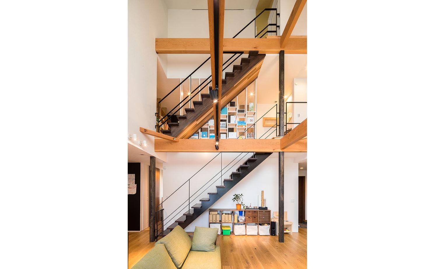 驚くほど開放的なのに「ソーラーサーキット工法」で家の中の隅々まで快適!暮らしを楽しむ遊び心も満載画像3