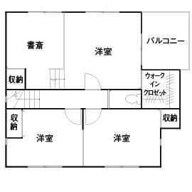【1000万円台/スキップフロアの間取り図 掲載】堺市で土地探しから家づくりまでトータルに依頼画像7