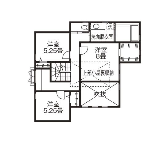 暮らしを彩る大好きなデザイン。青空と花が似合う三角屋根のラップサイディングの家画像5