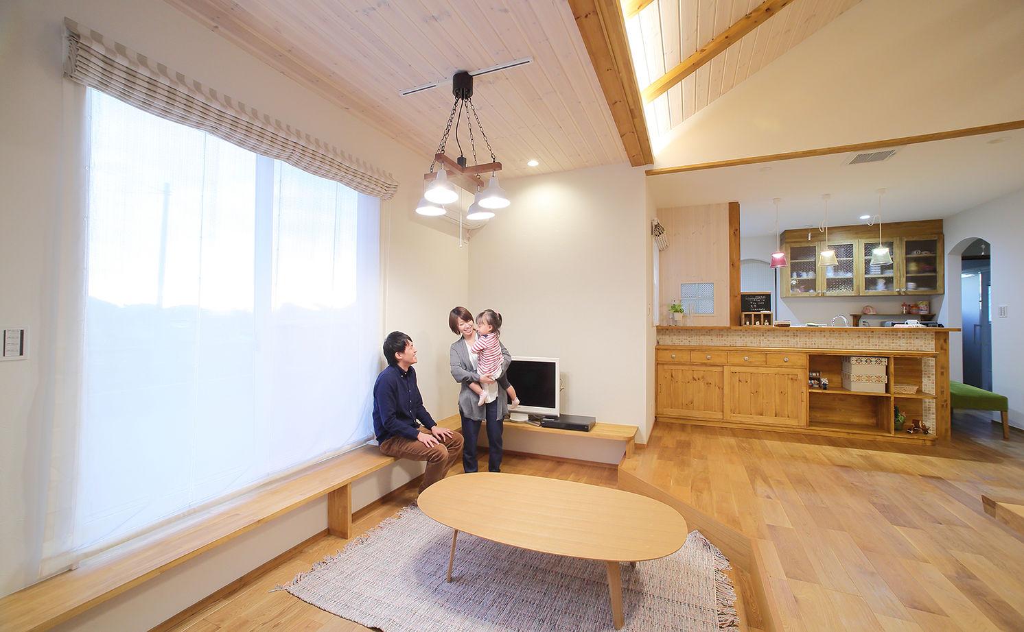 【2380万円】大好きを形に!自然素材を使用したカフェ風のフレンチかわいい平屋の住まい画像2