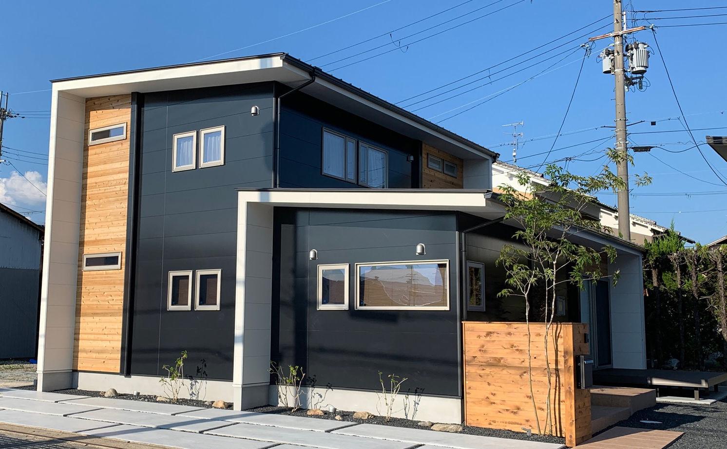縦に横に、広がる大空間。UA値0.44、C値0.30の気密性能で、住居兼オフィスを快適に画像1