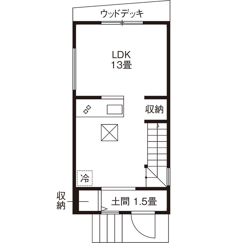 【1470万円】13.8坪の敷地に夢を詰め込んだ「アンティーク・レトロ」な住まい画像4