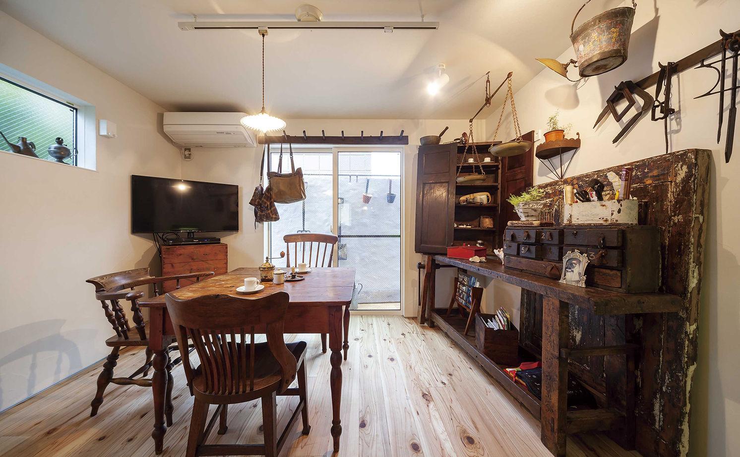 【1470万円】13.8坪の敷地に夢を詰め込んだ「アンティーク・レトロ」な住まい画像3
