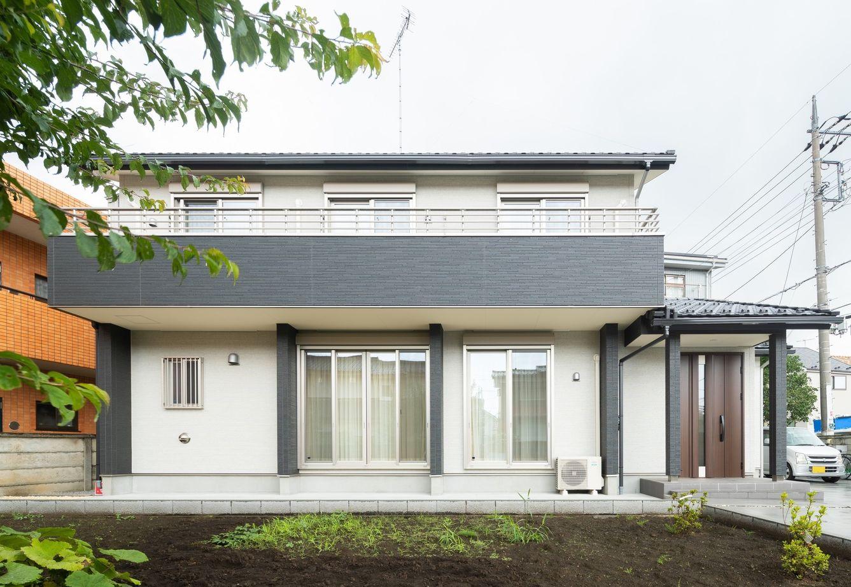 【間取図あり】家族が集まる広々リビングと本格和室。新築の住み心地に、懐かしい家の面影をうつした住まい画像1
