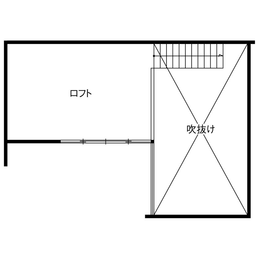 【1690万円/28坪/間取り有】外に閉じ、中庭やテラスから光を取り入れる。周囲を気にせず寛げる家画像6