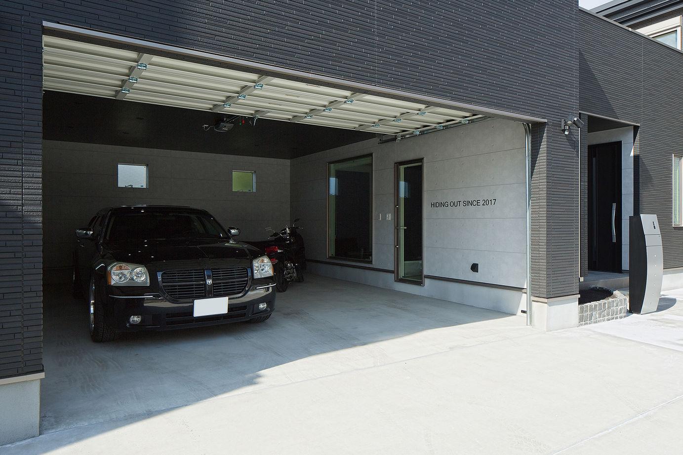 【2163万円・間取図有】こだわりのガレージハウスで、2台の愛車やバイクと思い切り遊ぶ住まいを画像2