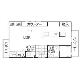【1500~1999万円】「リビングでブランコ」「屋上で花火鑑賞」「家族のカウンター」住まいが遊びの空間に画像5