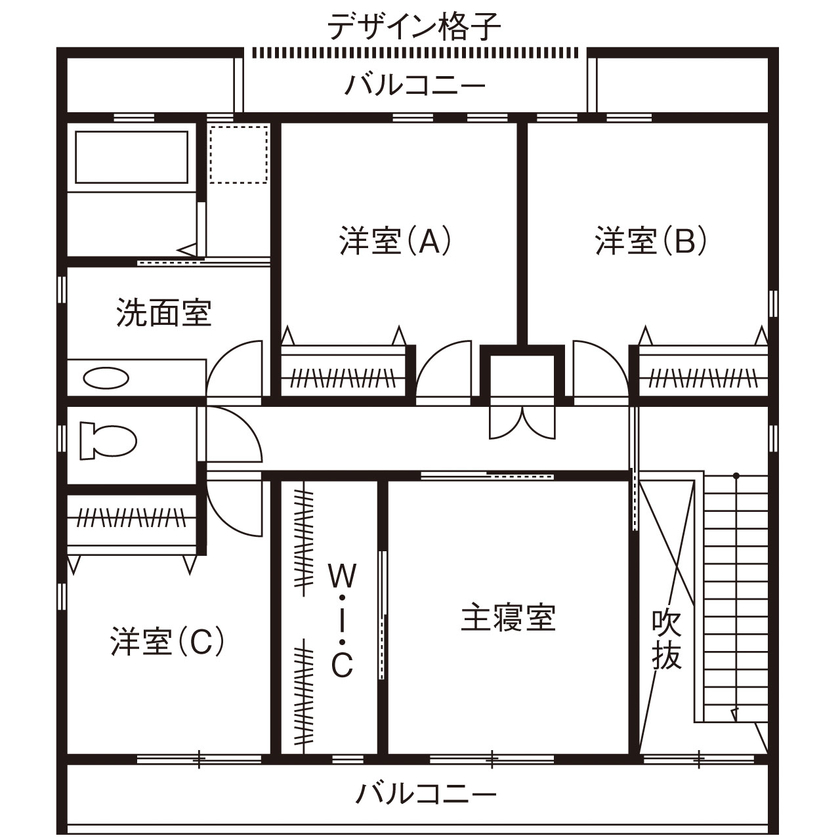 カッコよく、暮らしやすい。夫婦の憧れをカタチにした、寛ぎのデザイン住宅画像5