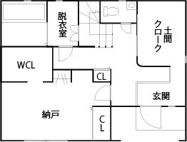 【2000万円台/24坪/狭小/間取り図あり】窓配置と高低差が生み出す心地よさ。狭小地でも明るい3階建て画像4